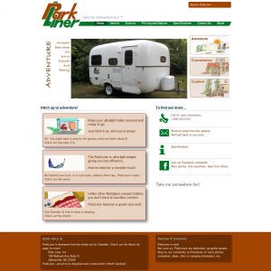 ParkLiner Fiberglass Camper and Travel Trailers